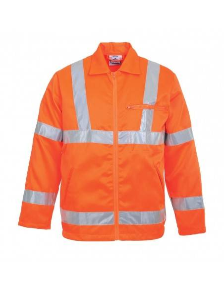Jacheta din Polibumbac Hi-Vis RIS