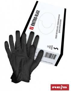 Manusi de protectie RNITRIO-BLACK 100 buc