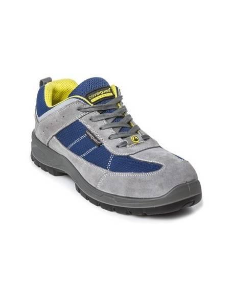 Pantofi de protectie S1P SRC ESD LEAD, gri/albastru
