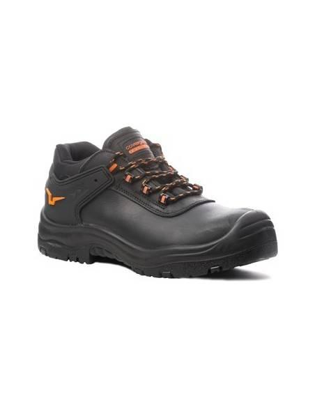 Pantofi de protectie cu aerisire, S3 SRC, OPAL negri, bombeu compozit