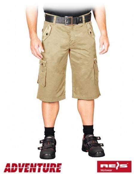 Pantaloni scurti Raw Pol SKV-SARI BE