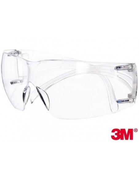 Ochelari de protectie 3M-OO-SF201 Raw Pol