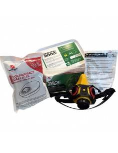 Masca Secura2000 CHEM + 2 seturi filtre