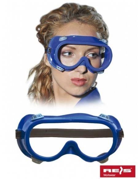 OCHELARI  DE PROTECTIE Gog-Air-Blue Raw Pol