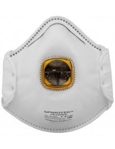 Masca de protectie FFP2 NR D tip scoica, cu supapa, Spirotek