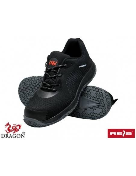 Pantofi de protectie S1P Dragon cu bombeu si lamela antiperforare