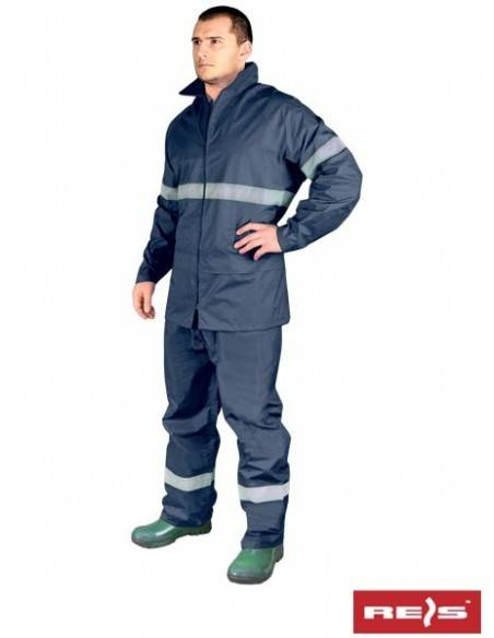 Costum de protectie impermeabil reflectorizantKPL-RAINER