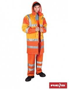 Costum impermeabil reflectorizant Raw Pol
