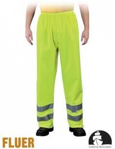 Pantaloni de protectie cu benzi reflectorizante FLUER