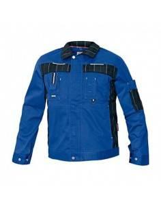 Jacheta de protectie OLZA albastra din bumbac 97%