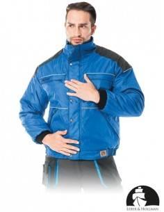 Geaca de protectie,izolata in interior albastru/gri LH-TERBER
