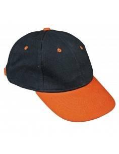 Sapca EMERTON,Cerva negru/portocaliu