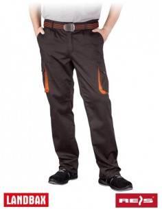 Pantaloni talie de protectie LAND din tercot