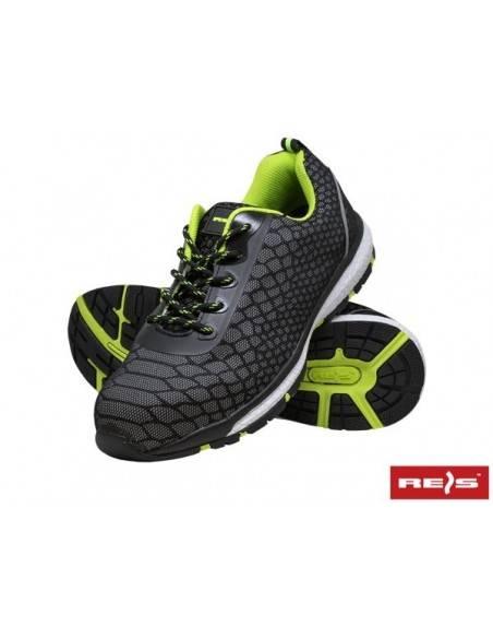 Pantofi de protectie Brvaran S1 cu bombeu metalic