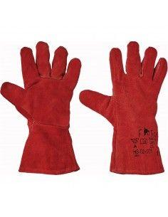 Manusi de protectie din piele HS-02-001(Sandipper) pentru sudori