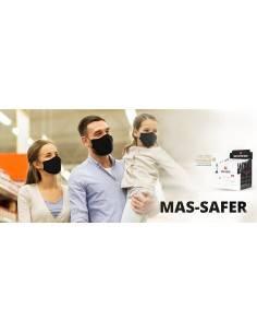 Set 3 buc- masca de protectie pentru adulti si copii Mas-Safer din bumbac