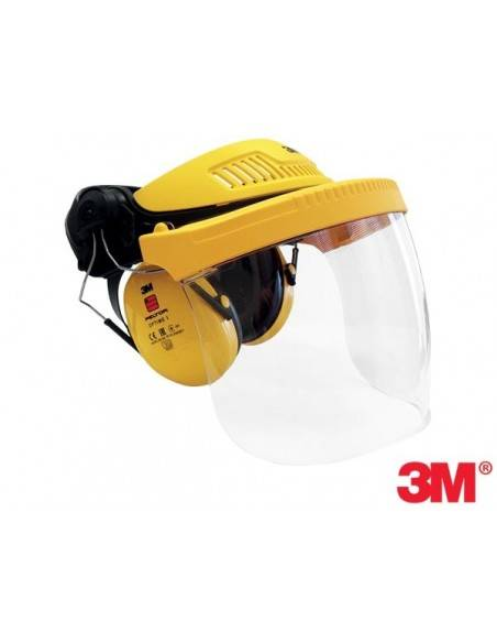 Viziera de protectie G500 Factory 3M si antifoane externe