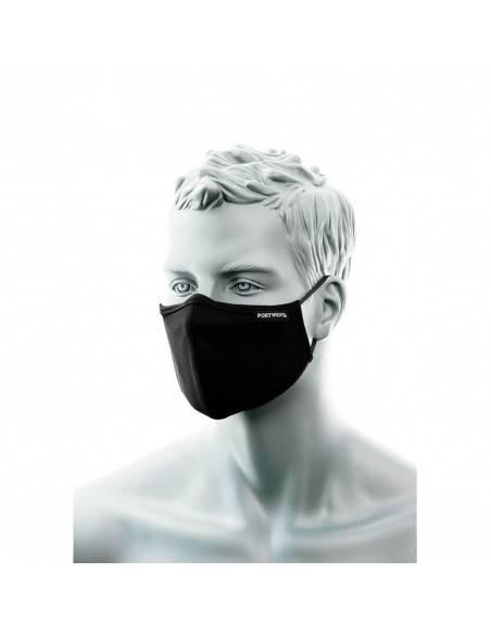 CV35 - Masca de protectie din tesatura antimicrobiana 3 straturi cu banda pentru nas