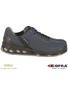Pantofi de protectie S3 BRC-HERTZ cu bombeu aluminiu COFRA