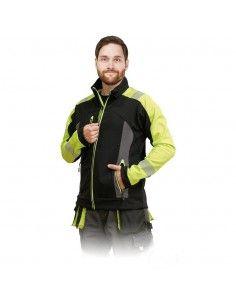 Jacheta de protectie softshell reflectorizanta LH-SHELLVIS