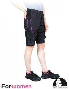 Pantaloni scurti de protectie pentru dame LH-FWN-TS