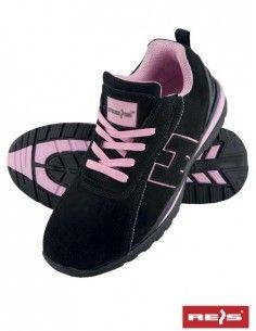 Pantofi de protectie dama SB BRARGENTINA cu bombeu metalic