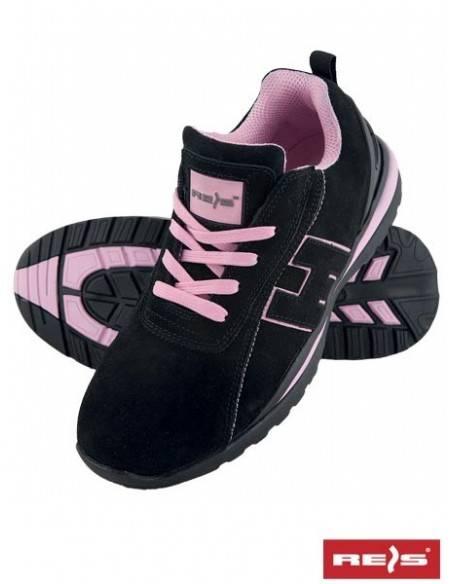 Pantofi de protectie dama SB BRARGENTINA BPI cu bombeu metalic