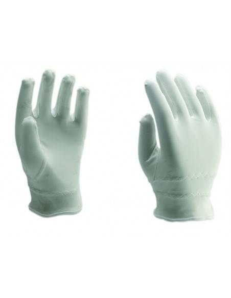 6020-Manusi de protectie cu microfibre, albe Rock Safety