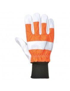 A290 - Manusi de protectie reflectorizante cu palmare din piele