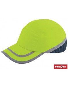 Sapca de protectie cu calota BUMPCAPFLUO 54-59 cm reflectorizanta