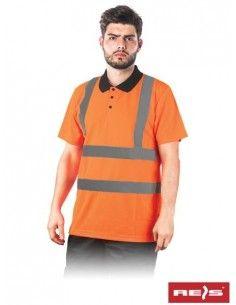 Tricou de protectie POLOROUTE reflectorizant
