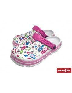 BCBELLA-Papuci de protectie din Eva cu model floral de dama
