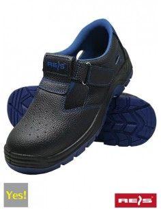 Sandale de protectie SB BRYESK-S cu bombeu metalic Reis