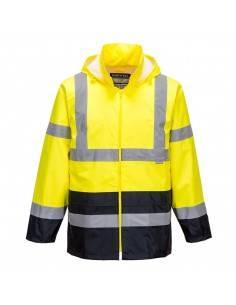 H443-Jacheta de protectie pentru ploaie HiVis Contrast Portwest