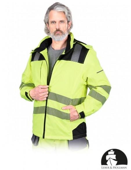 LH-VOLTER Jacheta de protectie reflectorizanta cu gluga detasabila