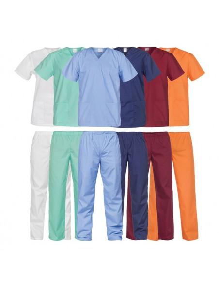 4301 - Set tunica si pantaloni din tercot 110gr / m2